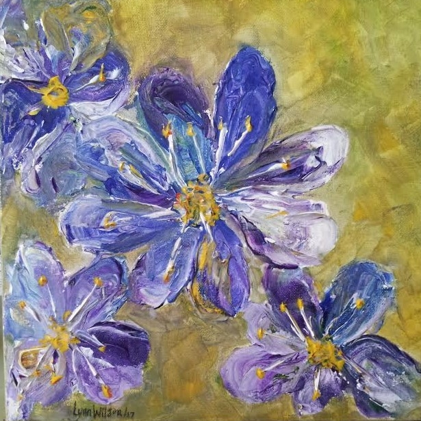 615_Flowers_Palette_Knife_and_brush_Purple_Blue_Olive_Yellow_May_2017.jpg