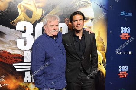 Marcin with director David Blair