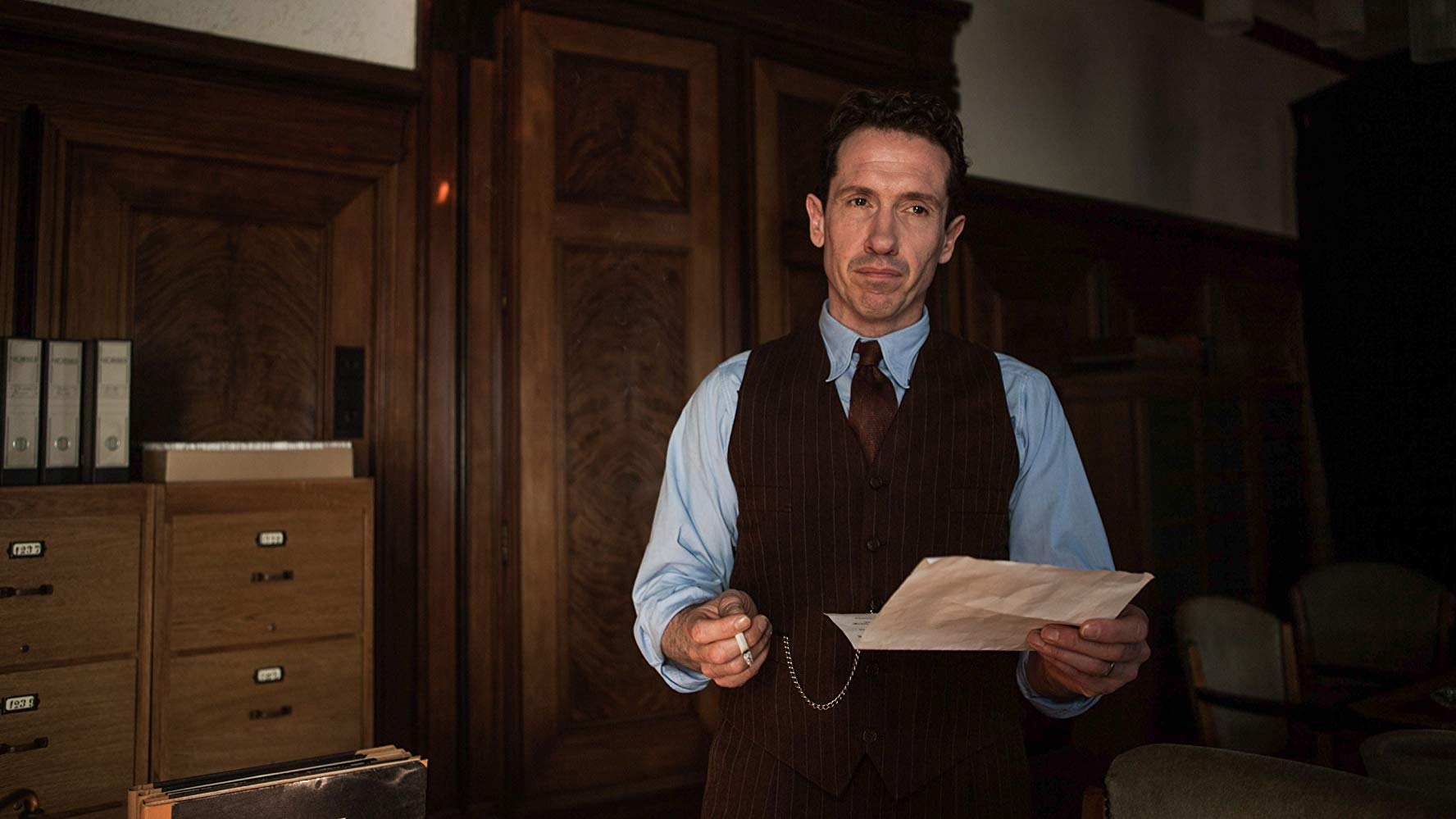 "Jacob Derwig in ""The Resistance Banker""."