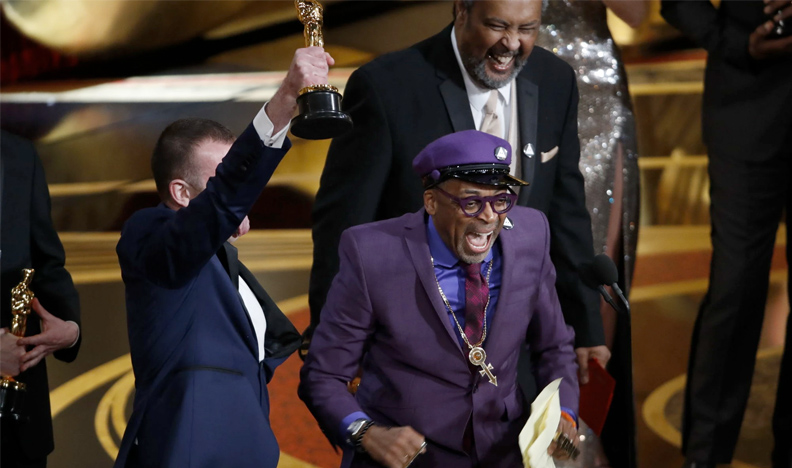 Spike Lee winning His First Competitive Oscar