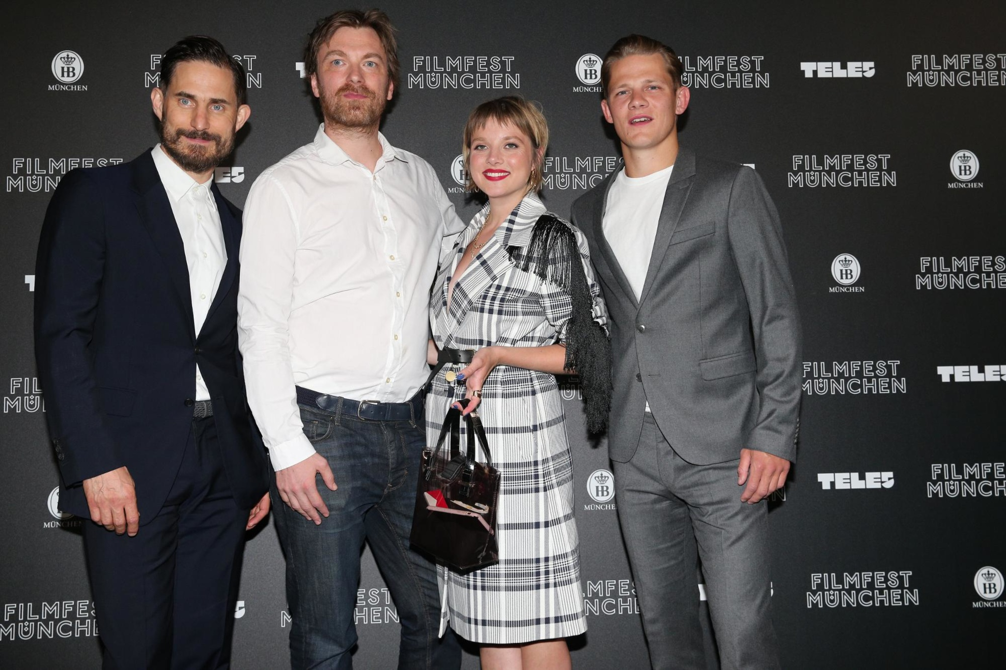 Clemens with cast and the director at the Munich Film Festival premiere