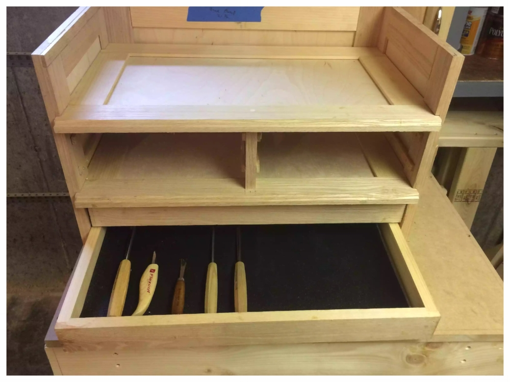 Drawer completed