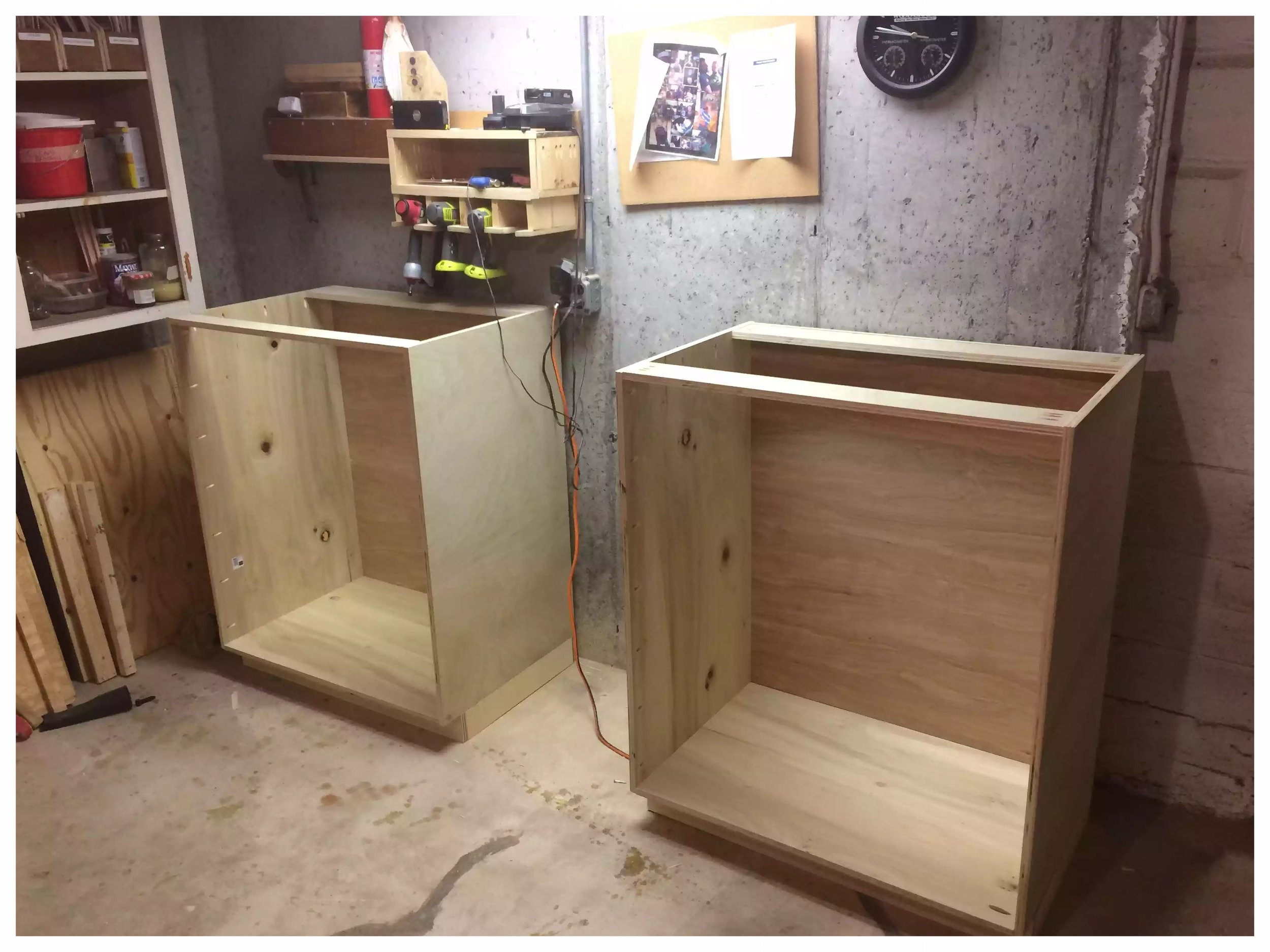 Cabinet Carcass all finished