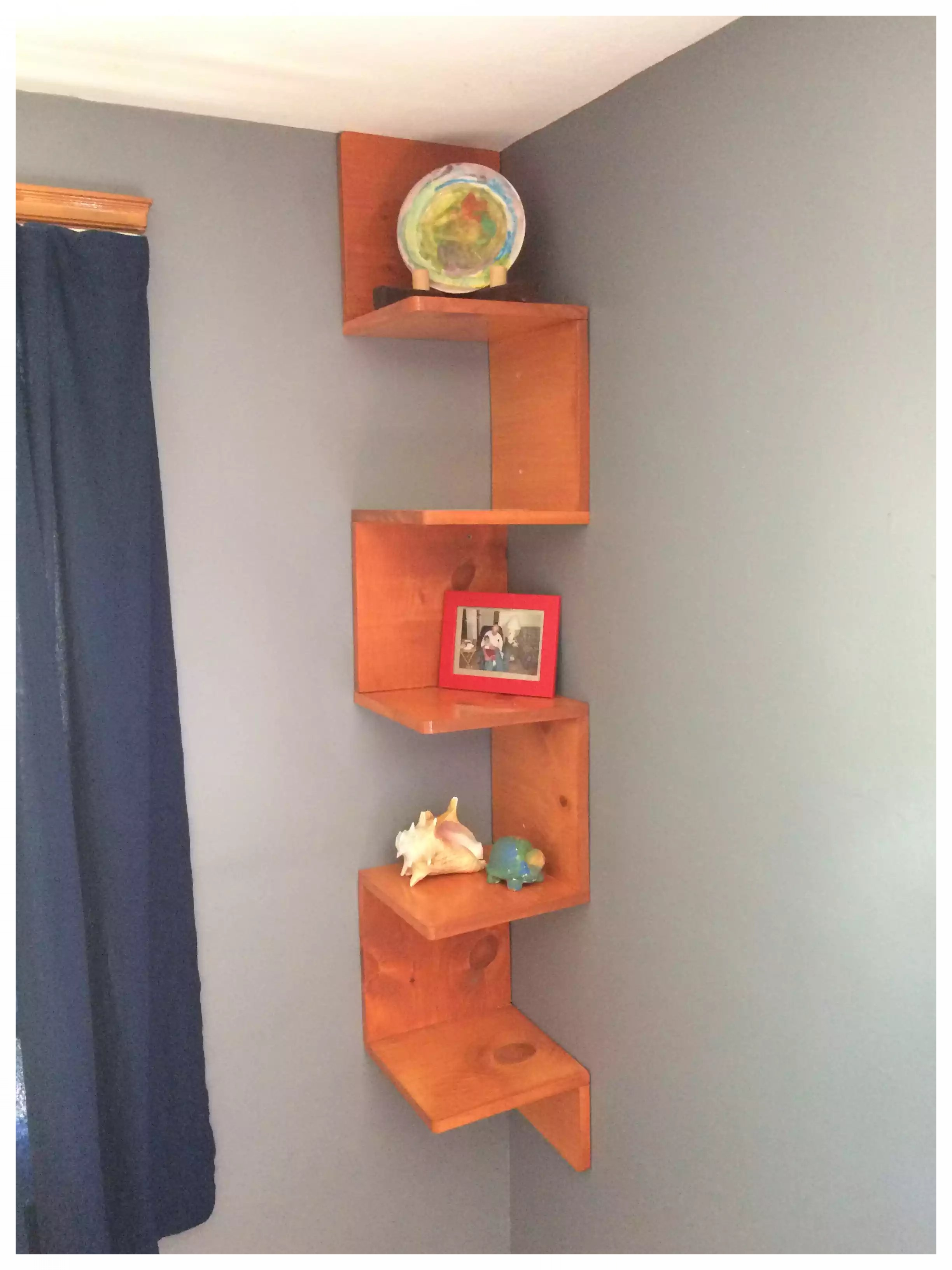 Zig Zag Shelf all completed!!!