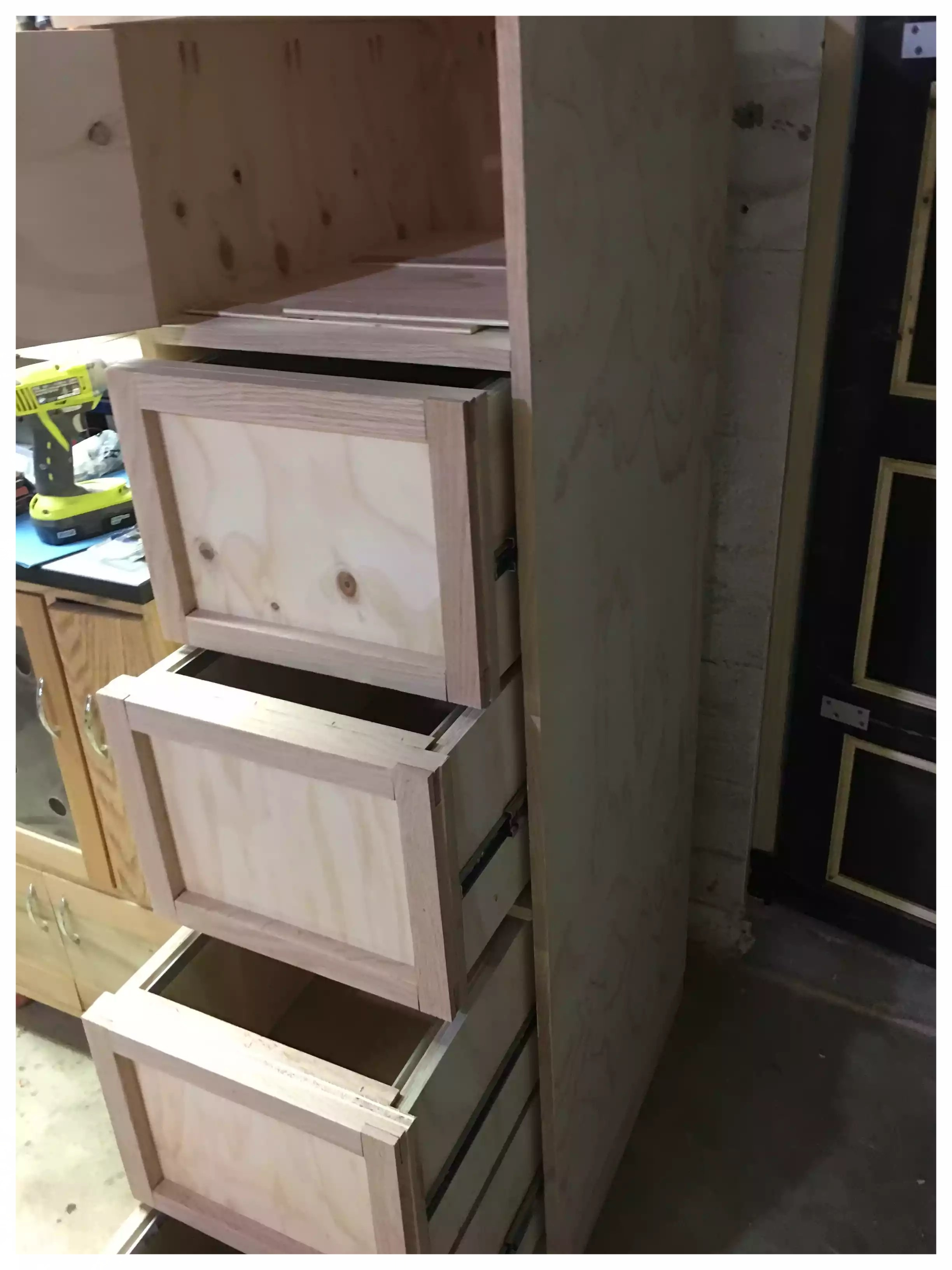 Frame & Panel Drawer Fronts