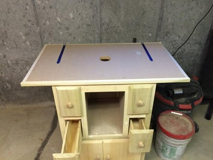 My First Router Table