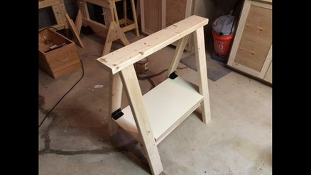 Workhorse with shelf