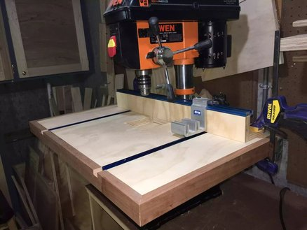 Drillpress Table