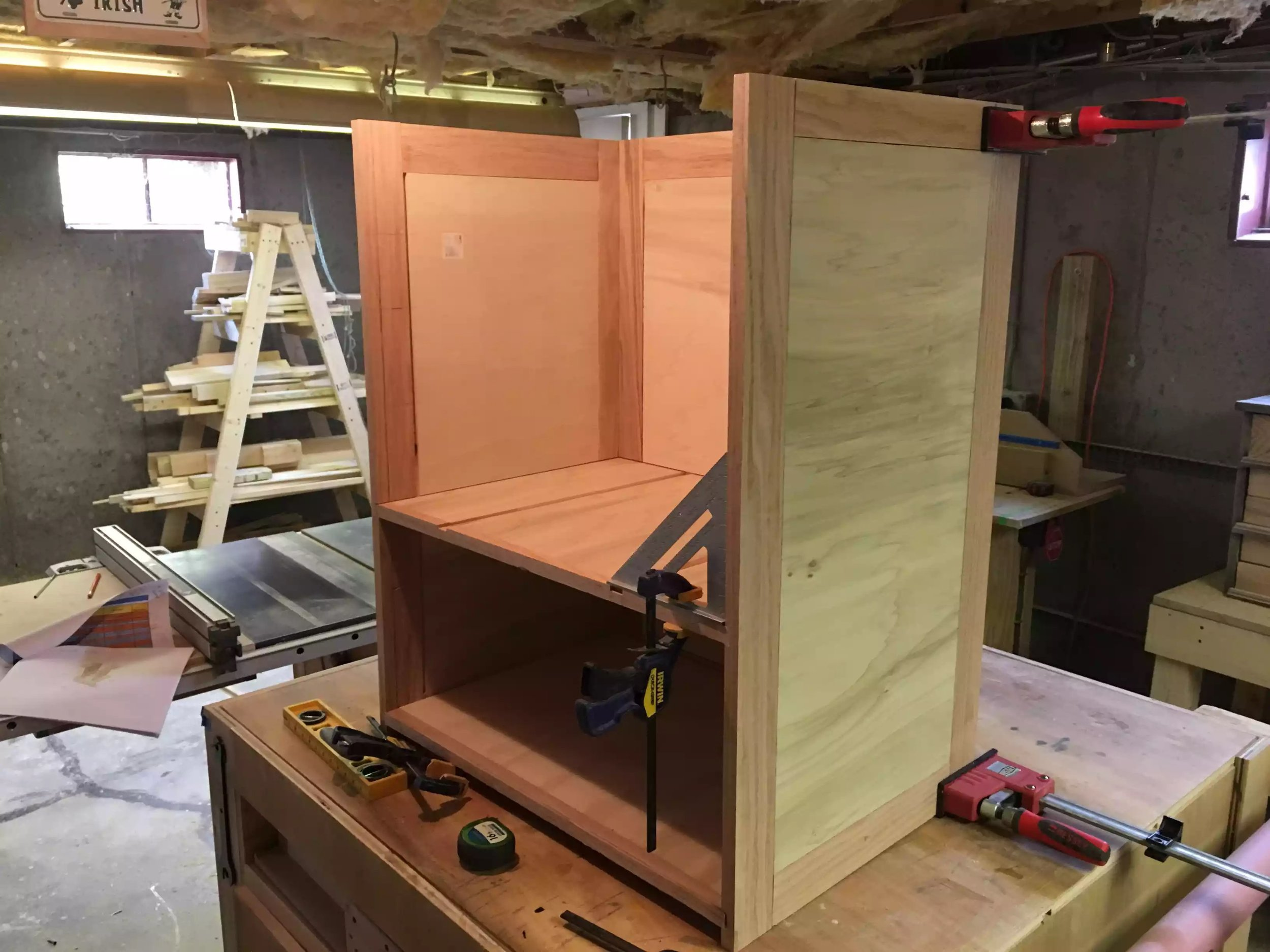 Cabinet coming together