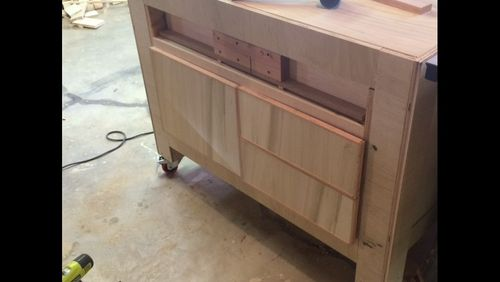 Crosscut sled in its new hme