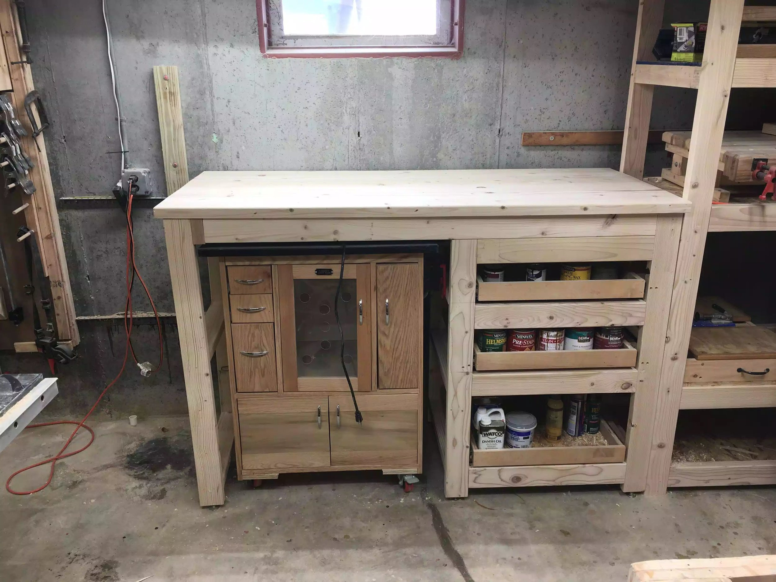 Router Table & Drawers