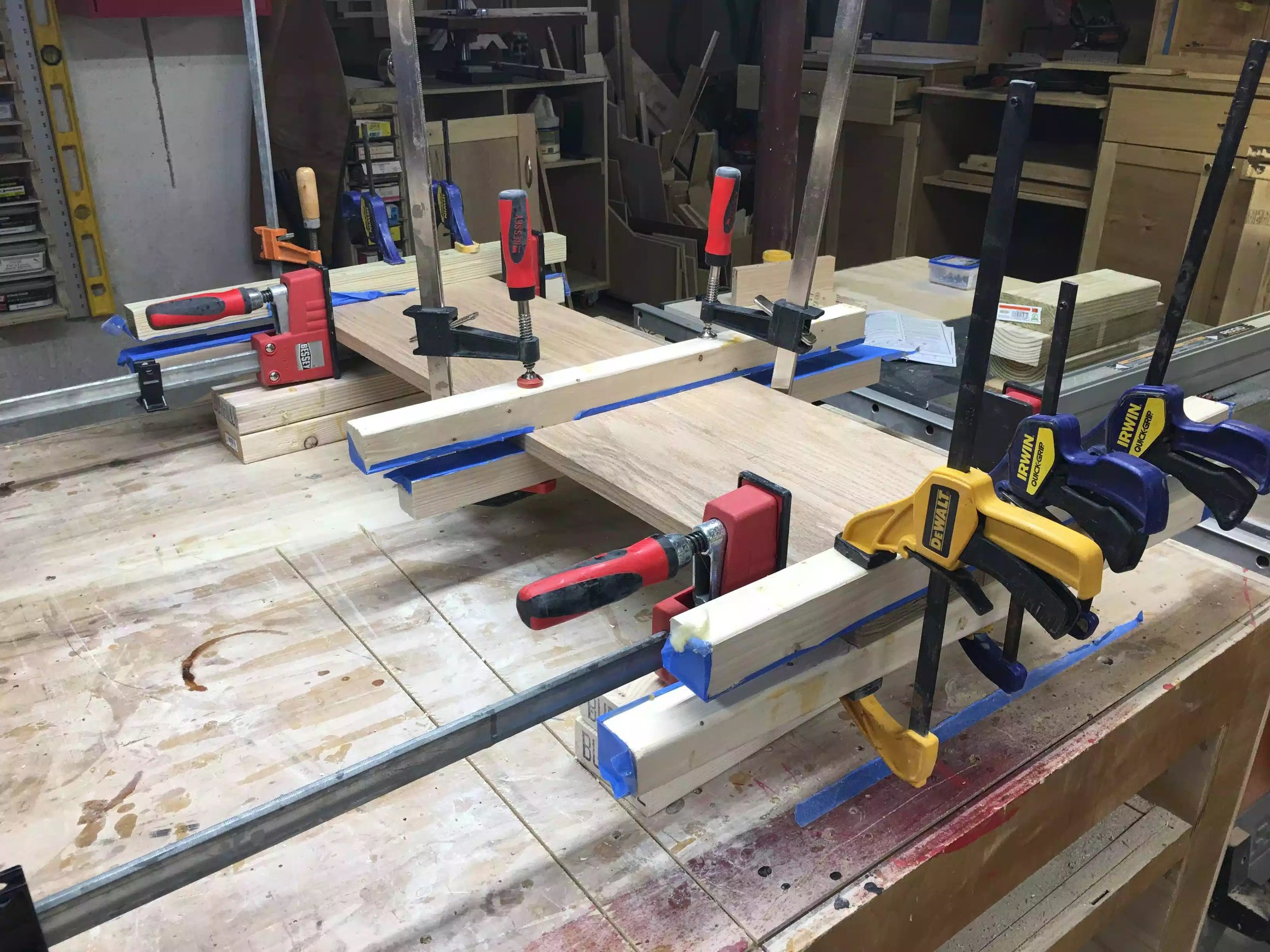 Another glue-up image