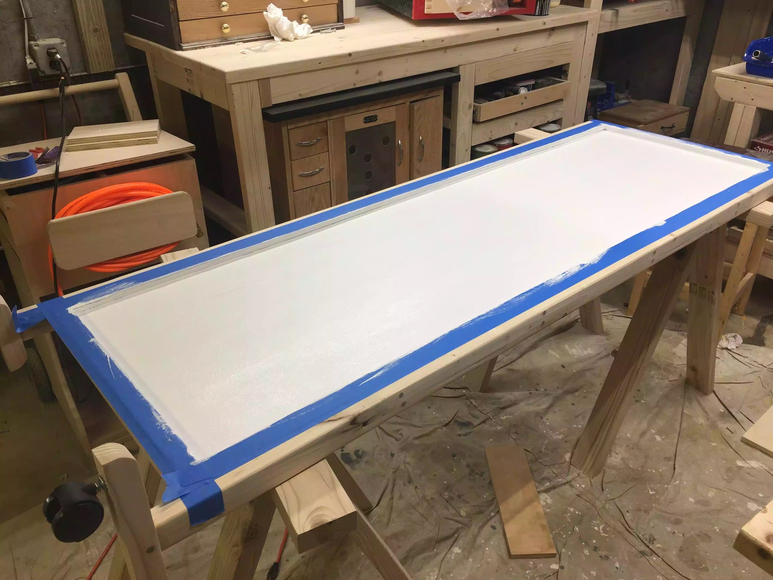 Another picture of the primed panel
