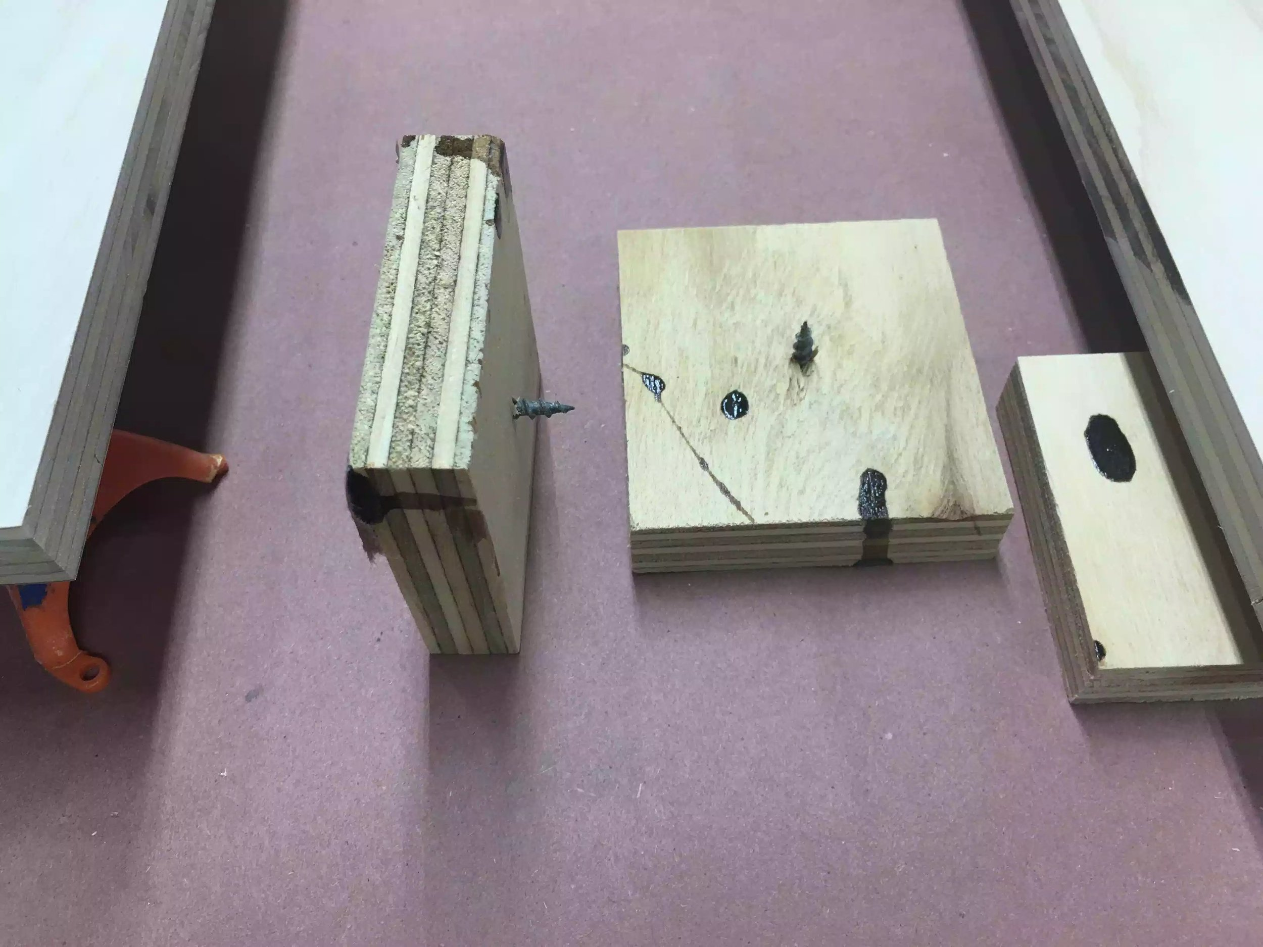 Here is my shop made risers, cheap but effective