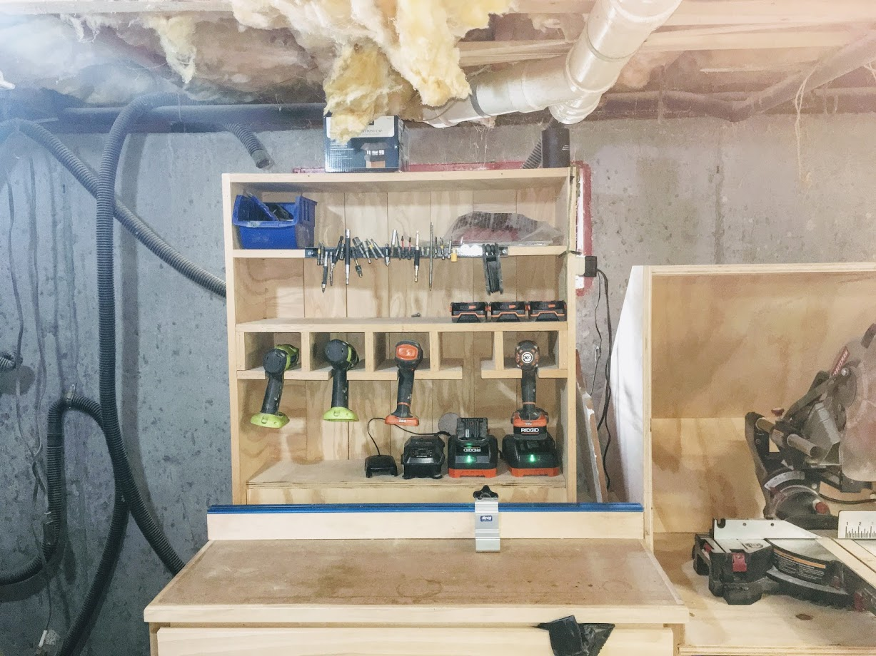 CORDLESS TOOL CHARGING STATION - ADDITIONAL INFORMATION