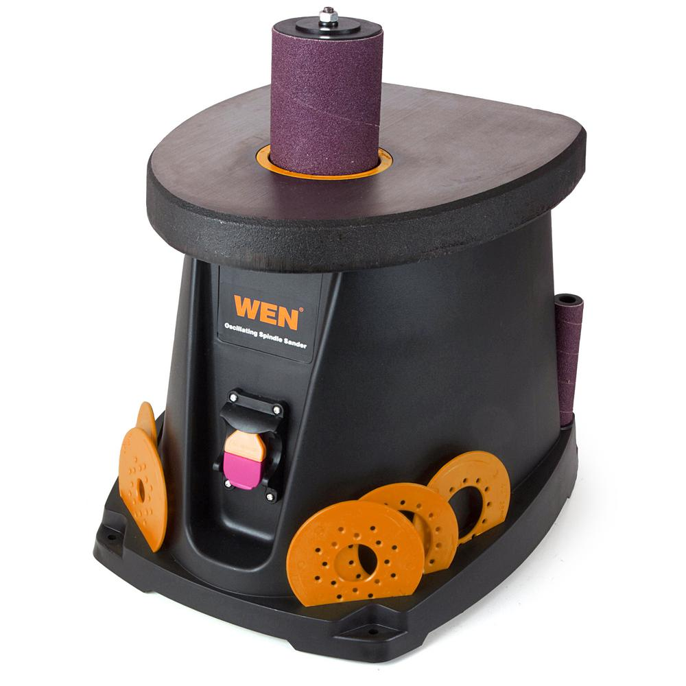 My old Wen Oscillating Spindle Sander, this served me well over 3 years but I badly needed a oscillating belt sander as well and that is another reason I upgraded to the Ridgid version.