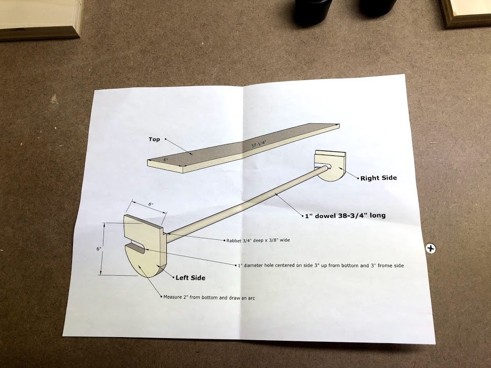 A quick sketchup plan