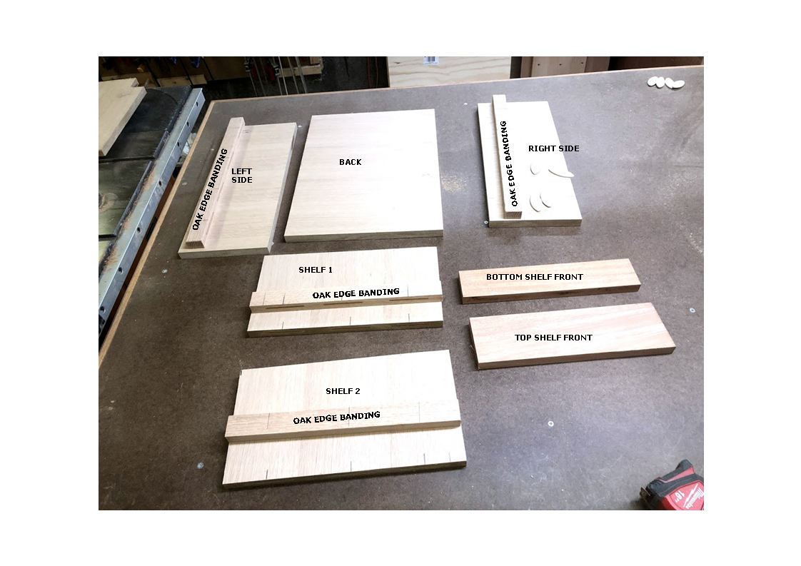 Here is a picture of all the labeled parts