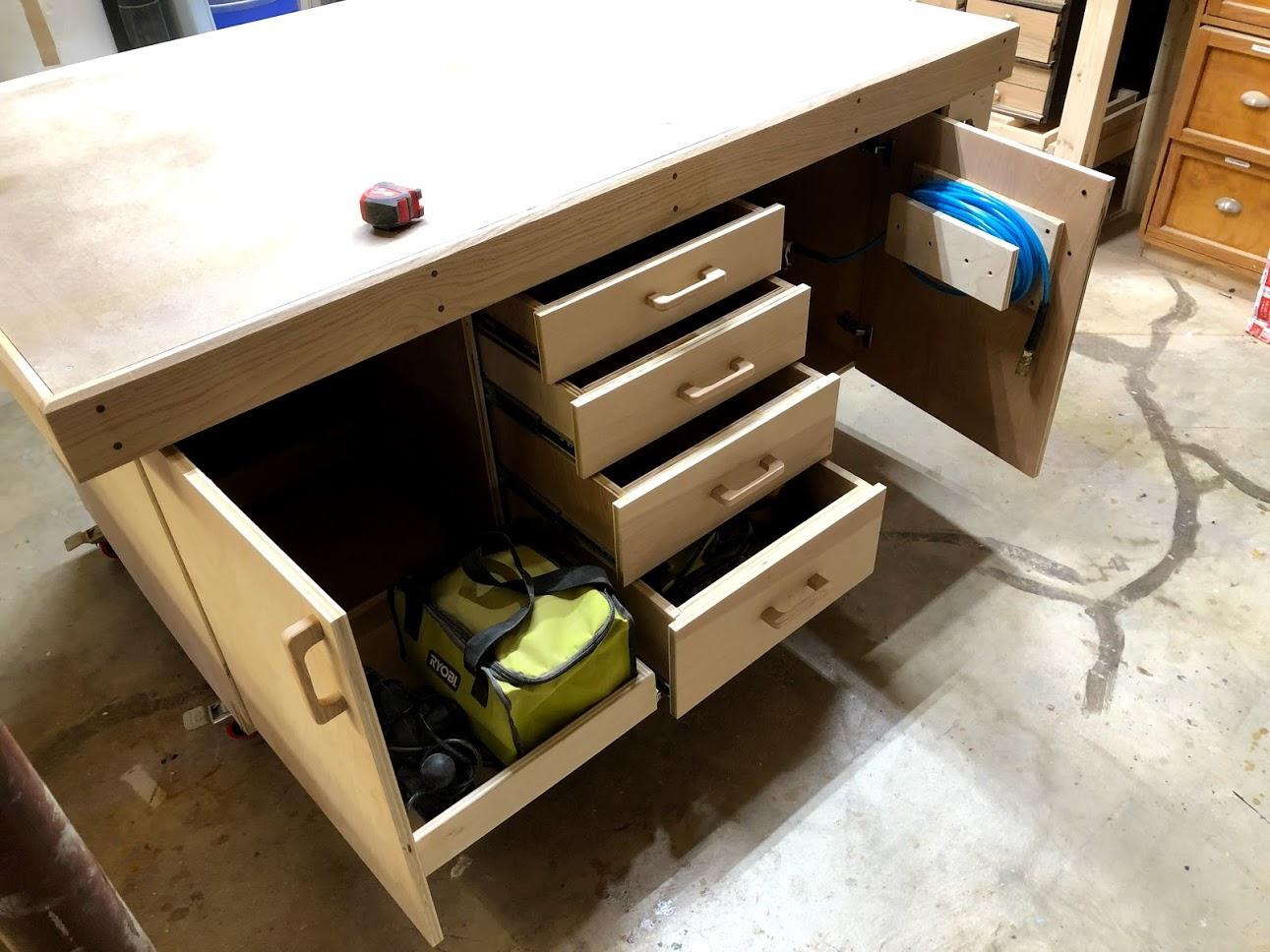 Assembly Table Storage Option