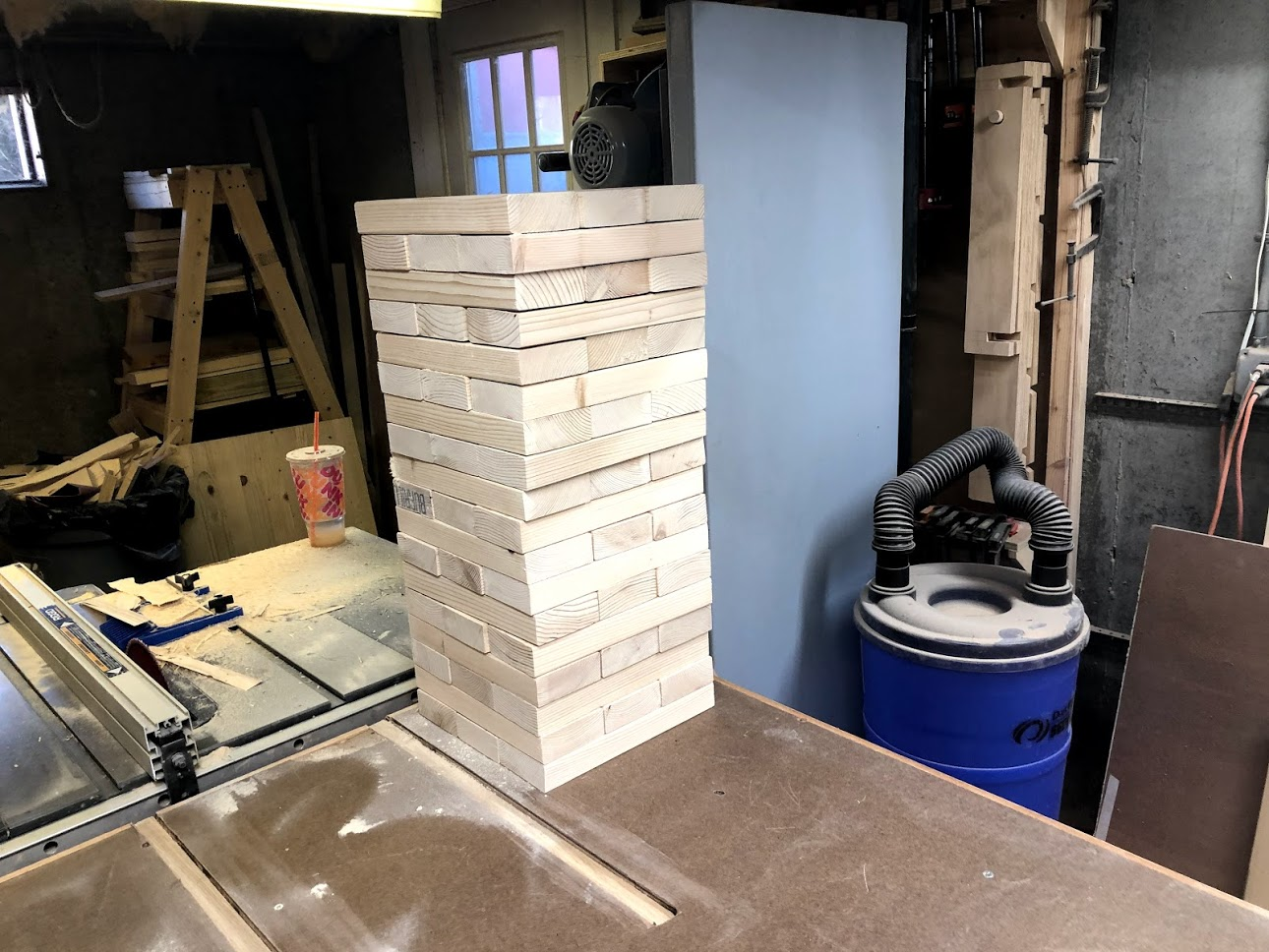 Jenga blocks all complete
