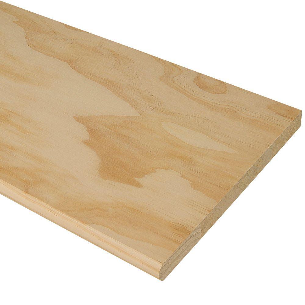 """Pine Stair Thread: 48"""" x 11-1/2"""" x 1"""""""