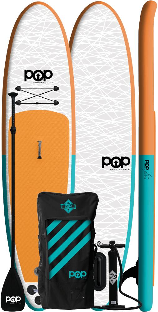 11'0″ POP Inflatable (Orange/Blue)