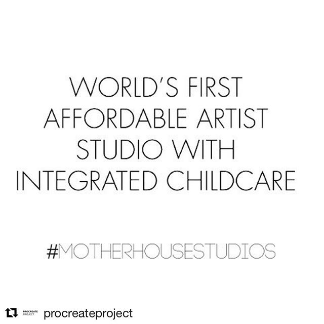 Yes, yes, YES to this! #Repost @procreateproject (@get_repost) ・・・ We need you to shout out loud with us and make this happen!! We need 100 backers by the 14th of October in order to be considered for the Mayor Crowdfund London! As little as £2 can make a big difference!  If we succeed we will also be able to advance with the creation of a Tool Kit and create a social franchise model. Many women internationally could benefit from this provision. Career development, more representation for women in the arts and creative industries, mental health and community are all aspects that this model can improve and foster. Please help us by spreading the word, donating and invite others to pledge, and sharing the project page with your network! Thank you so much in advance for your support. ⠀⠀ Link in Bio ☝️💕 @deptfordx ⠀⠀ #motherhousestudios #motherhood #womeninthearts #artiststudio #motherartist #spacehive #contemporaryart #womensupportingwomen #artists #crowdfunding #supportwomen #femaleartist #artactivism