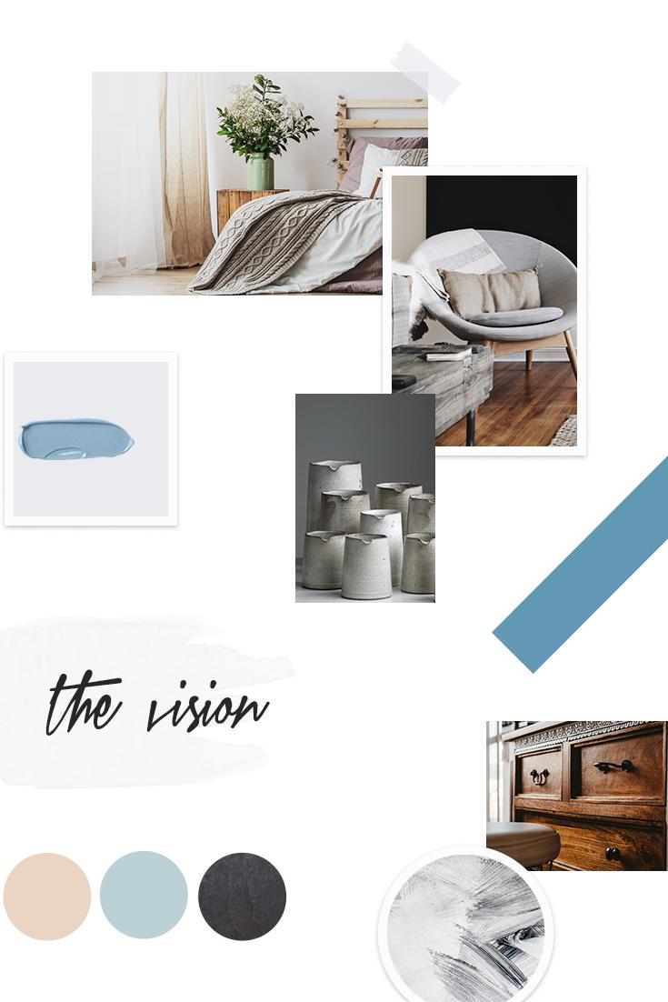 vision board frugal decor & more