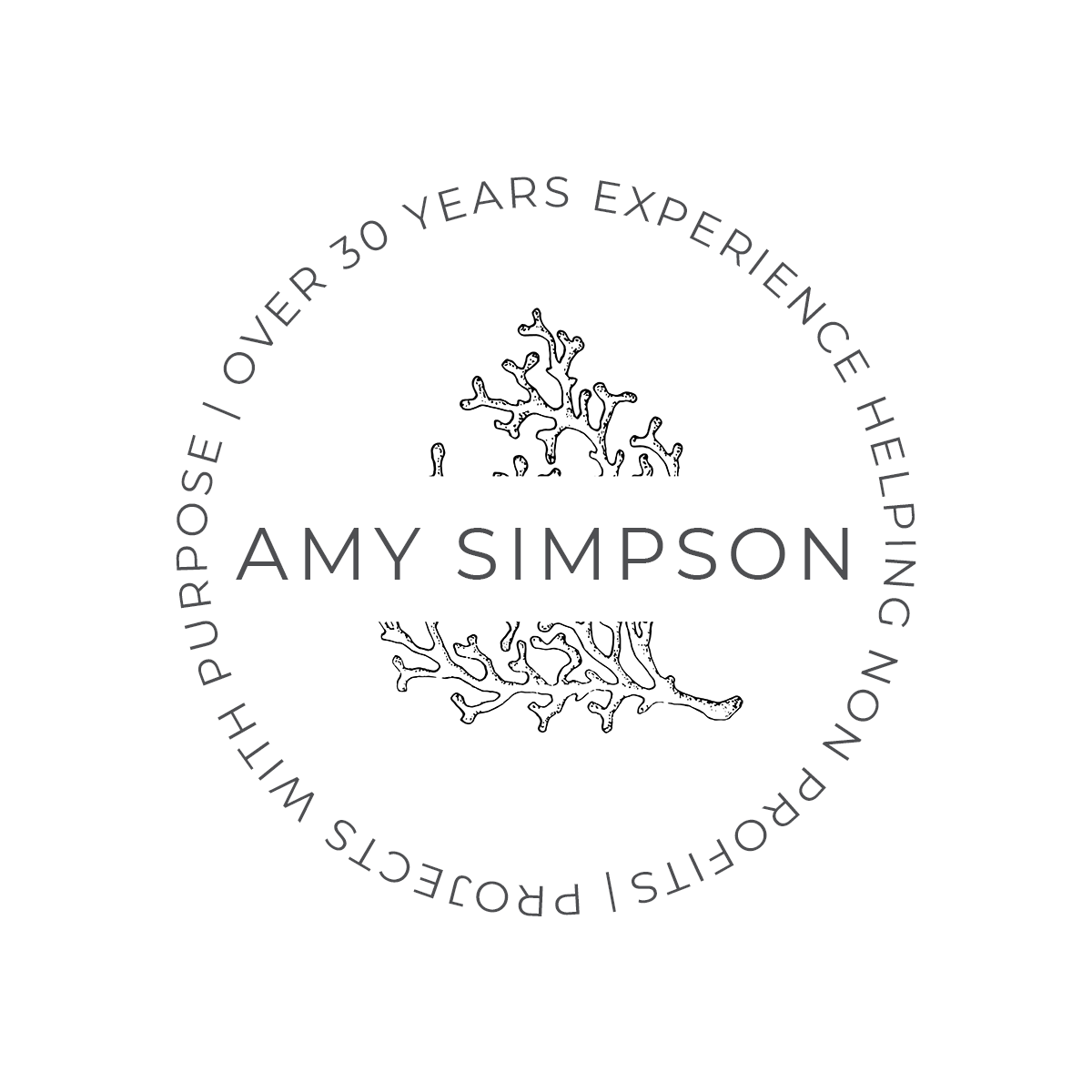 Amy Simpson Projects With Purpose Logo Design