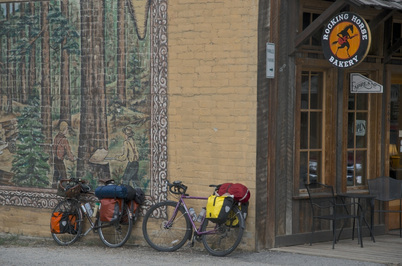 Cross country cyclists often stop by the bakery for a respite before tackling the infamous Washington Pass hillclimb over the North Cascades scenic highway.
