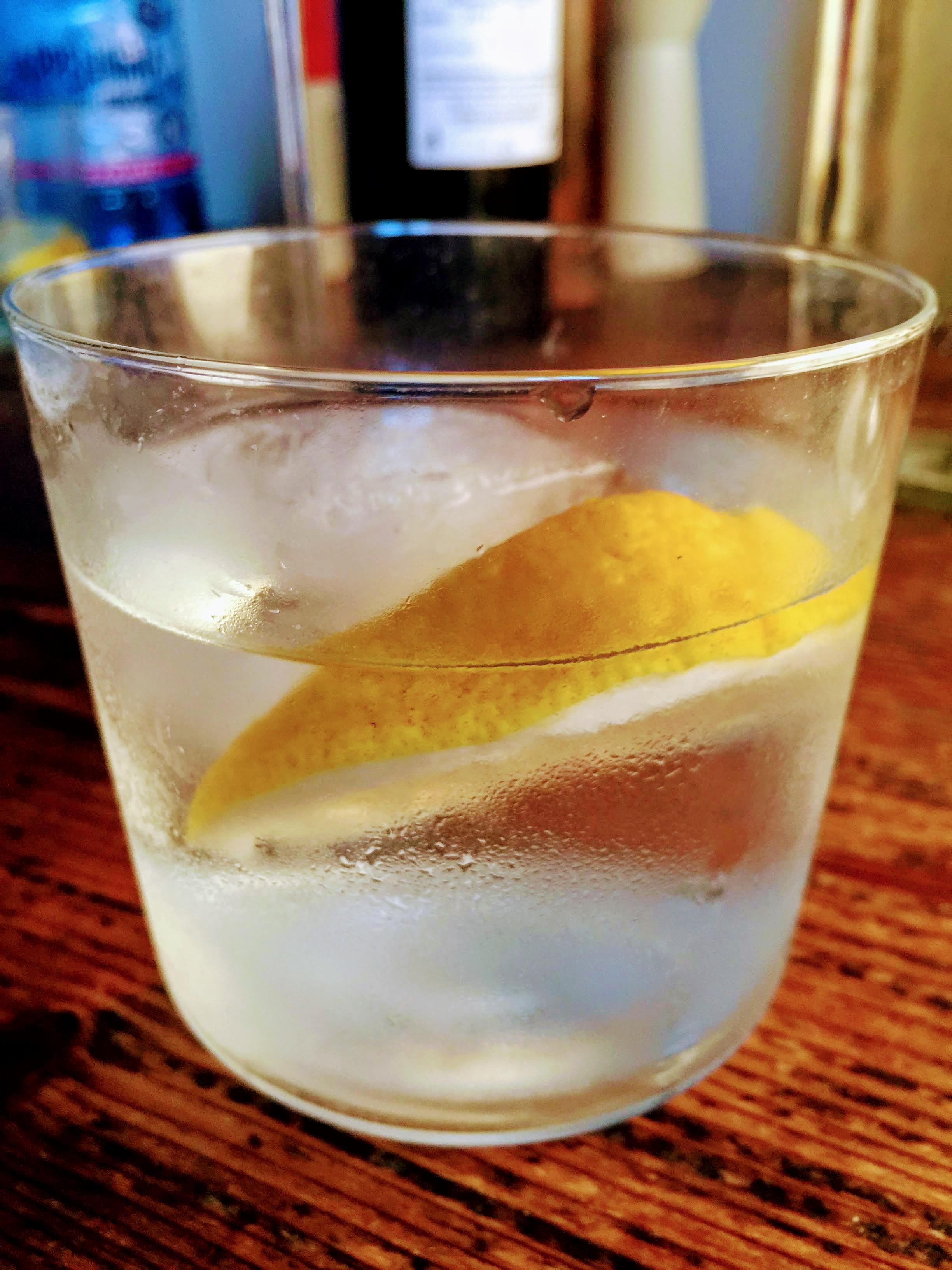 Sicilian Gin Tonic