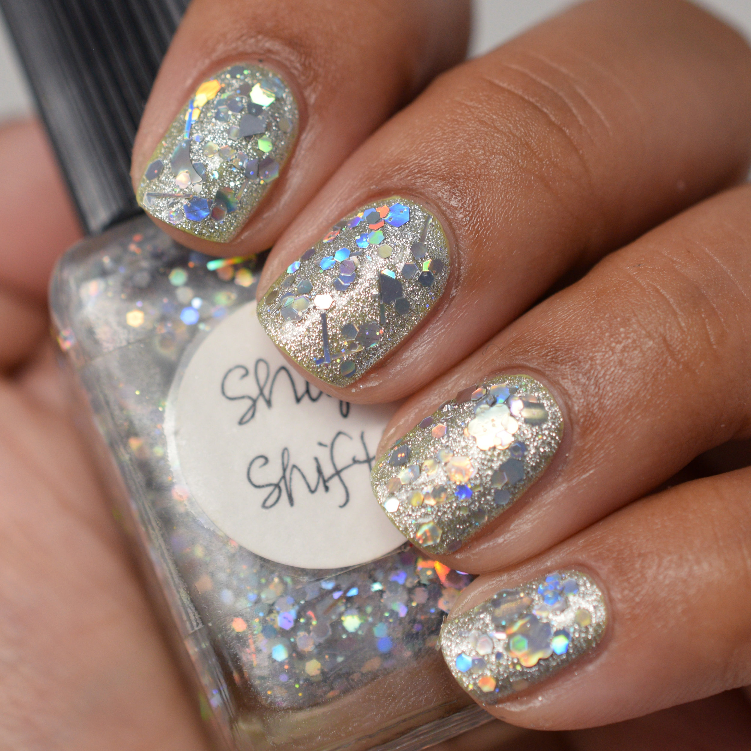 Shape Shifter over OPI This Gown Needs A Crown.jpg