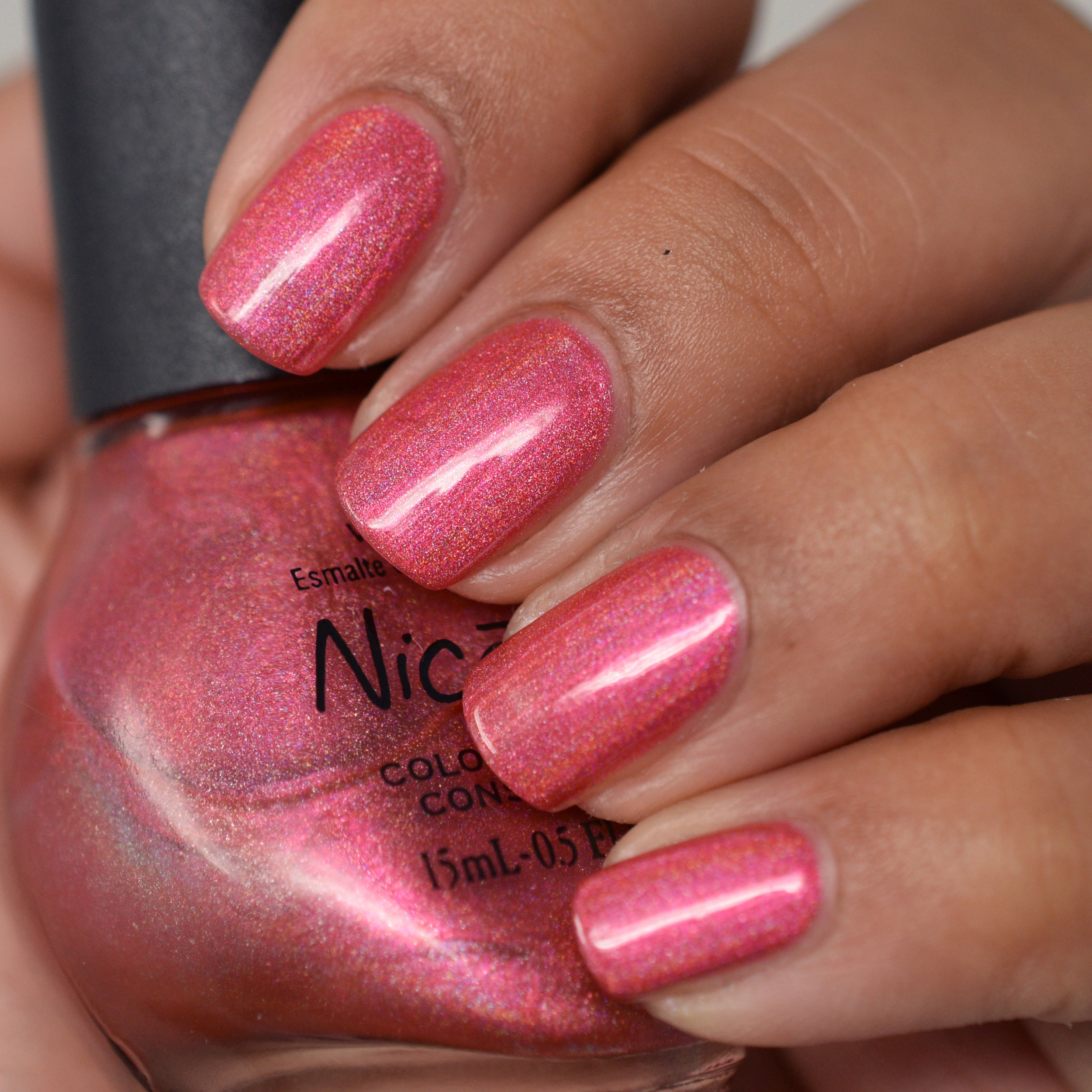 Nicole by OPI holiday holographic - Holly-Pop Red.jpg