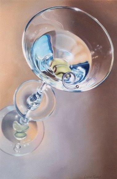 Grey Martini    Oil 24x36 SOLD