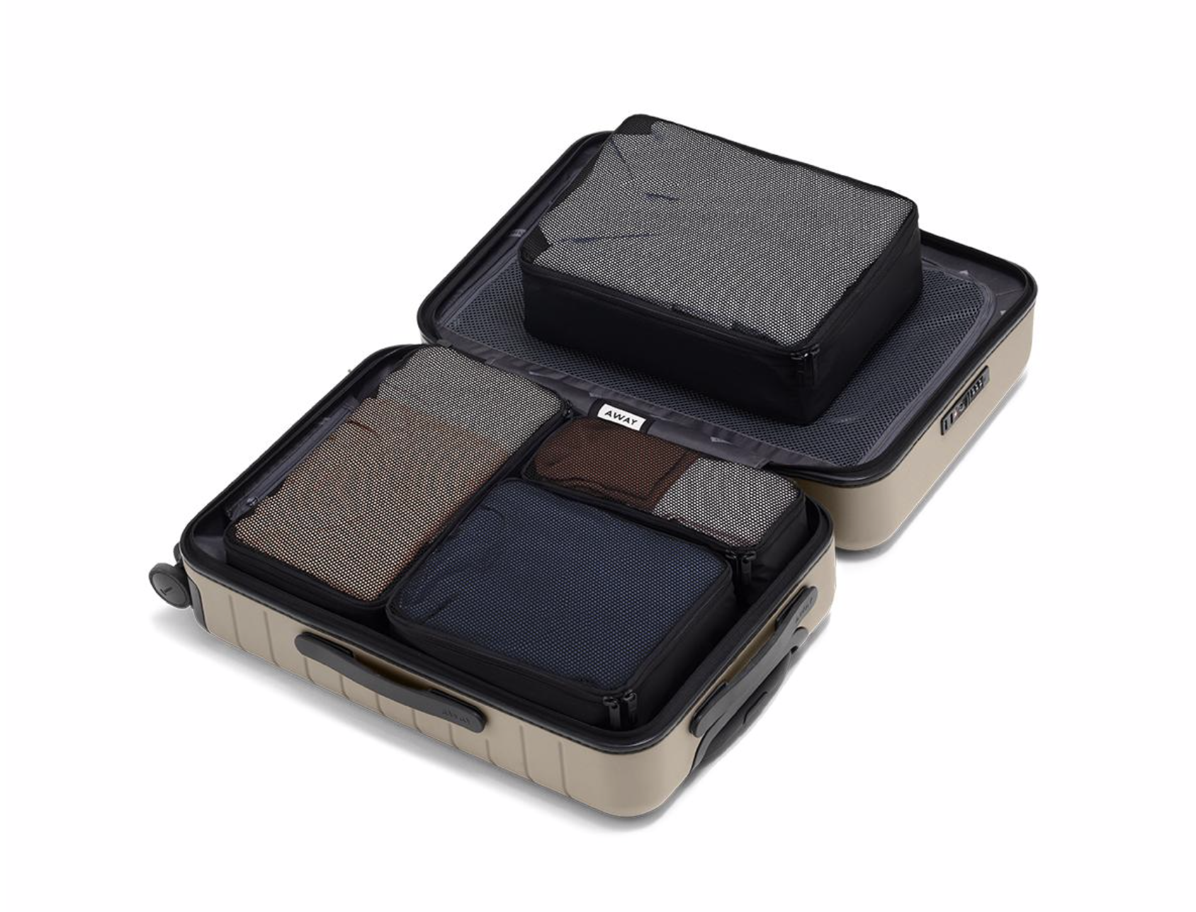 Packing Cubes - Make the Most of Your Space, Keep Things Organized, Easier Unpacking Protect Your Items