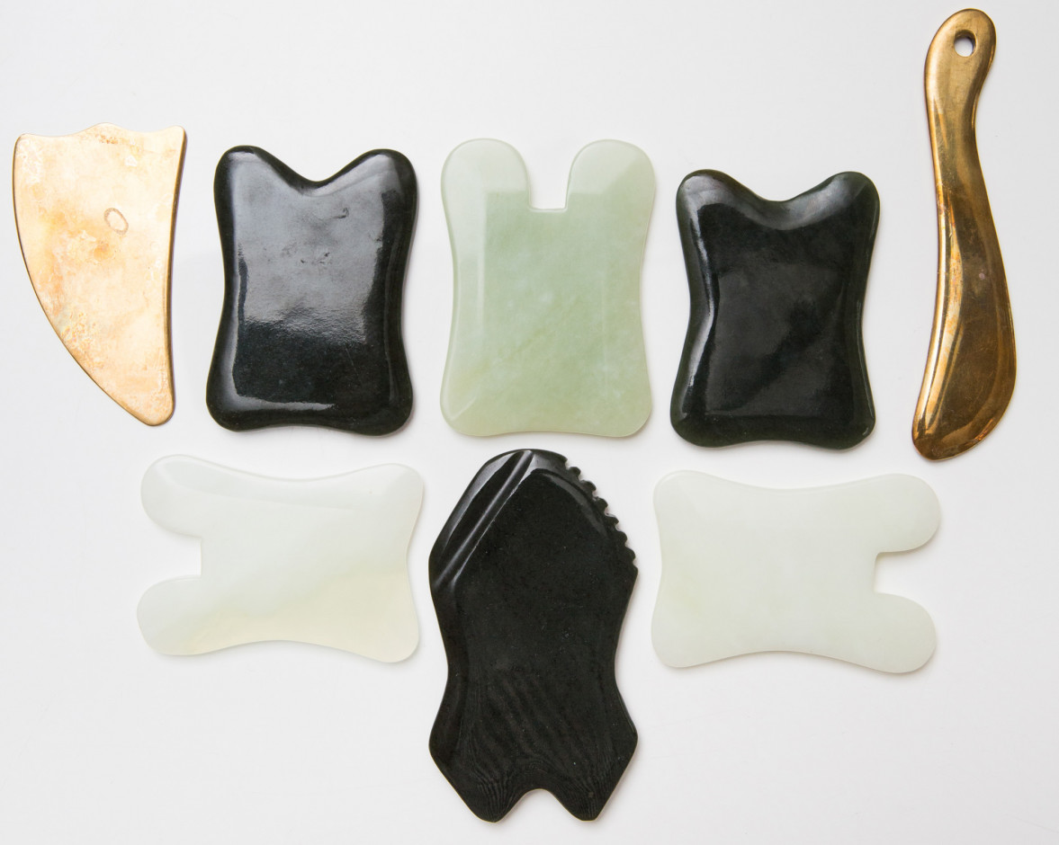 What most Gua Sha tools look like.  Photo: The Coveteur