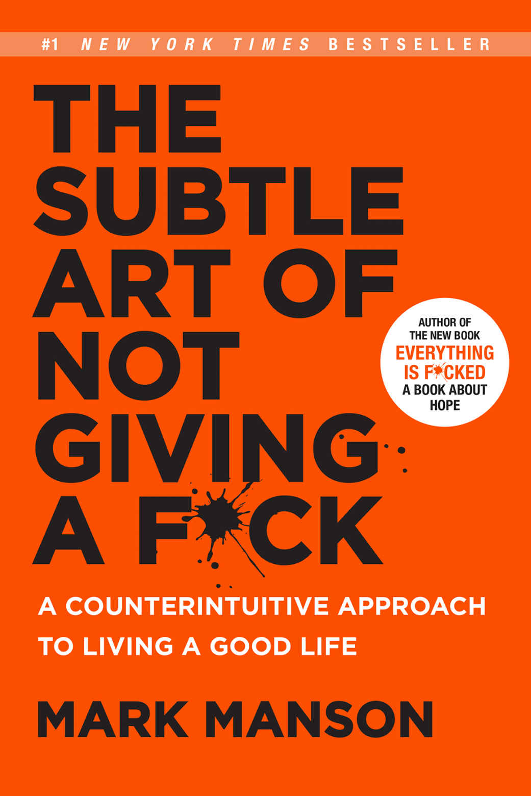 The Subtle Art Of Not Giving A F*** - We know this book has been around for a while but it bears repeating. You see, staying positive without worrying about the small things is an art we all need to finesse, day in day out. It's work in progress after all. If you haven't already read The Subtle Art of Not Giving a F*ck, we suggest you run straight to your local book store or add it to your digital cart, ASAP.