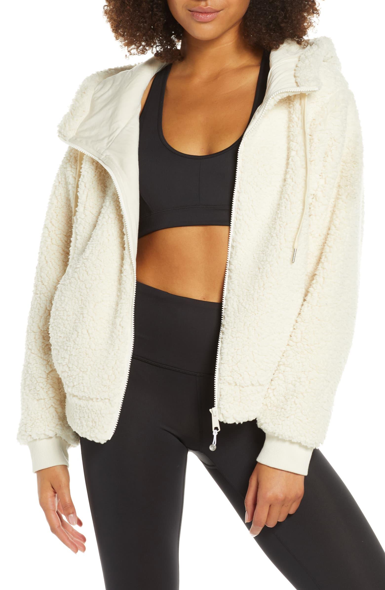 Farrah Hooded Fleece Jacket