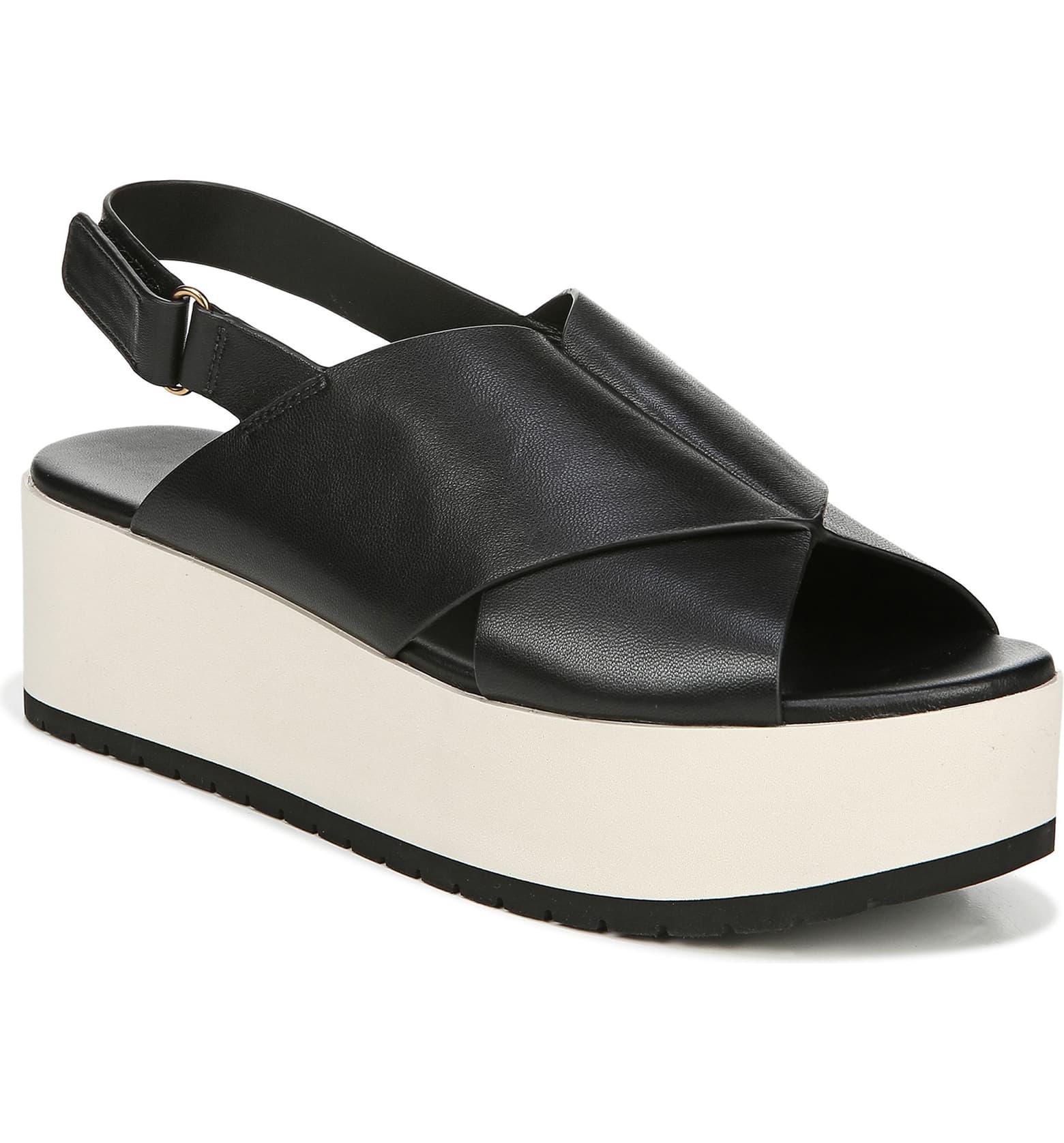 Vince Jenaya Sport Platform Sandal