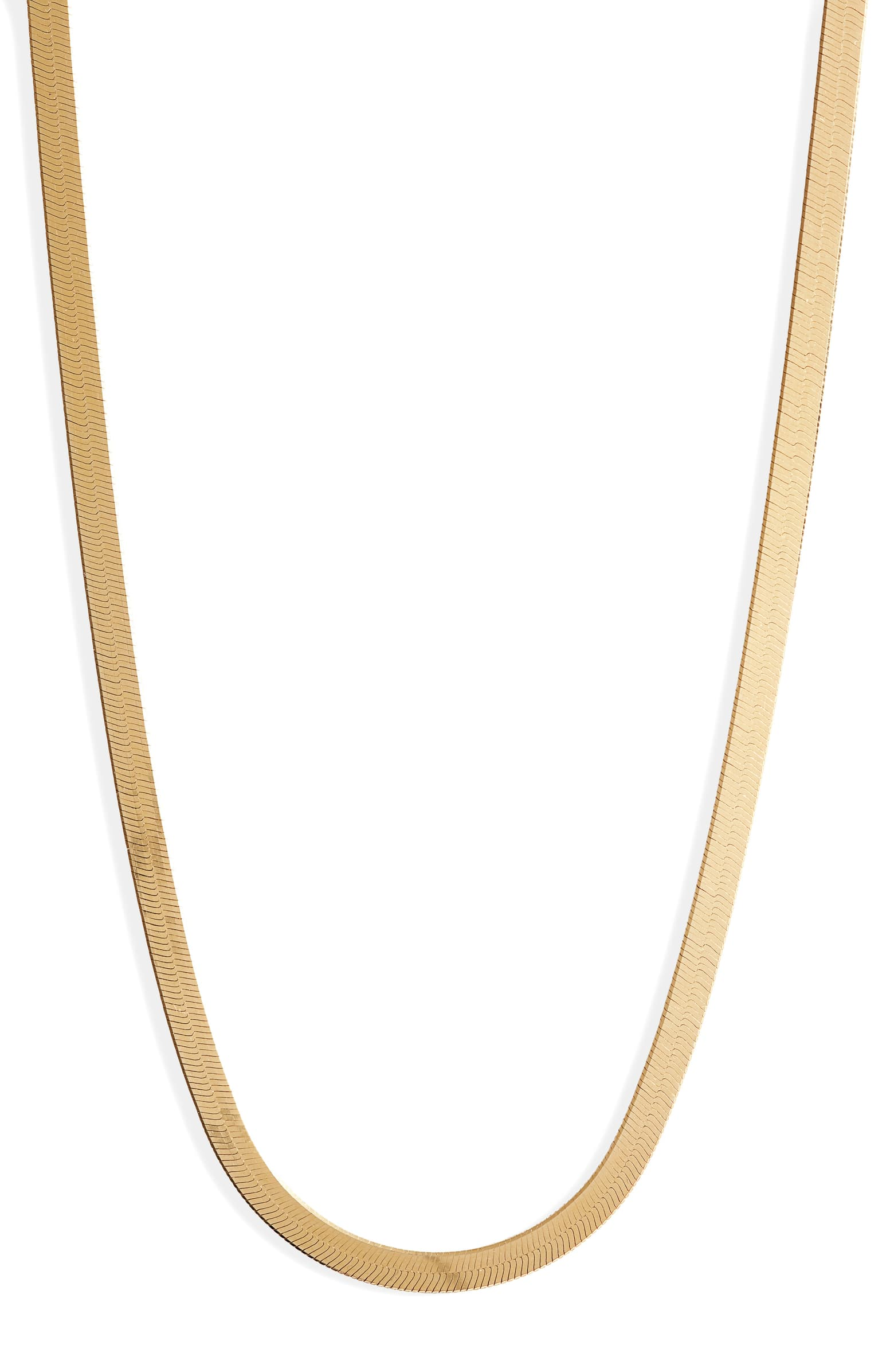 Argento Vivo - Sterling Snake Chain Necklace