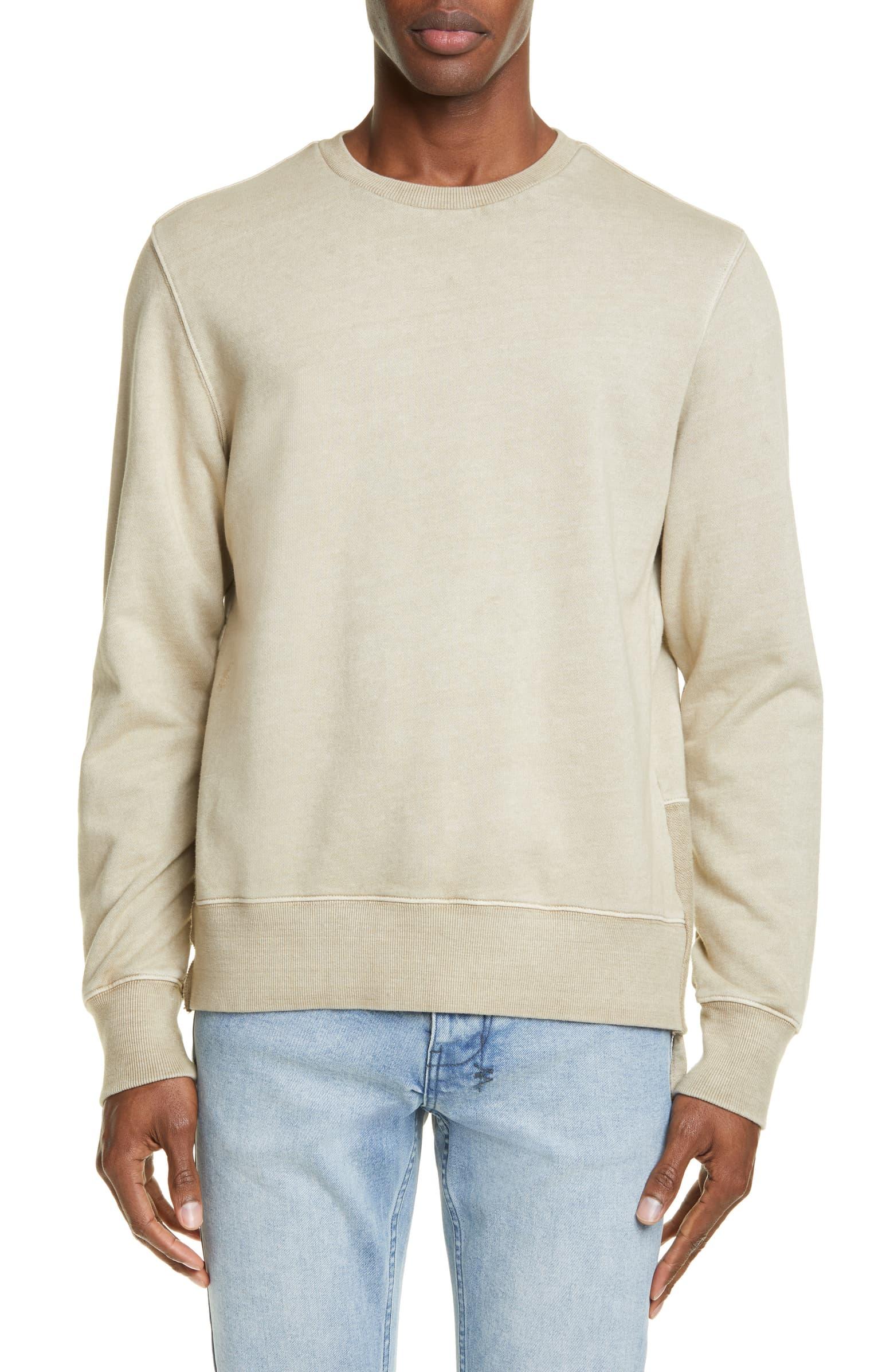 KSUBI Seeing Lines Crewneck Sweatshirt