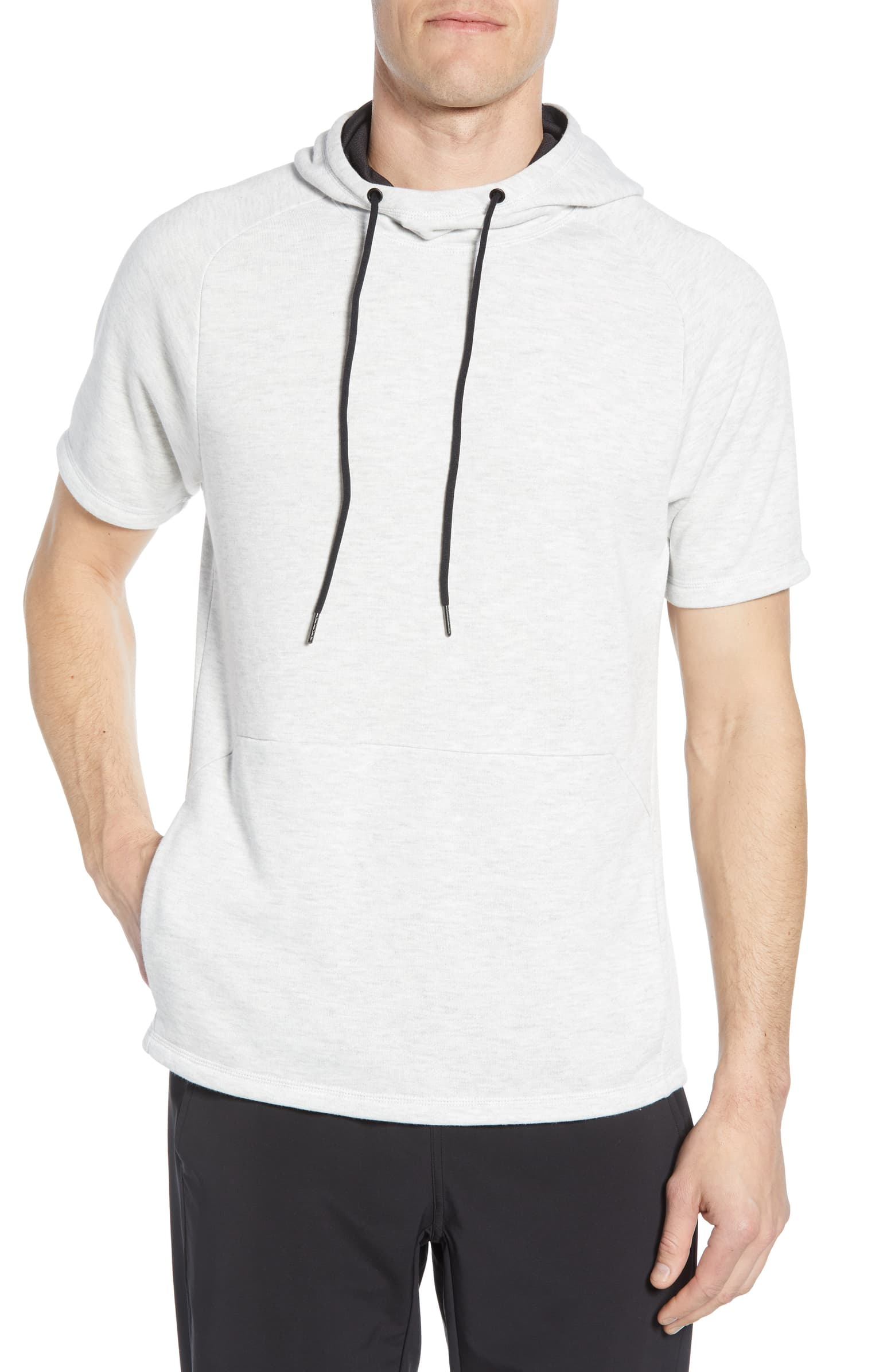 Zella Short Sleeve French Terry Hoodie