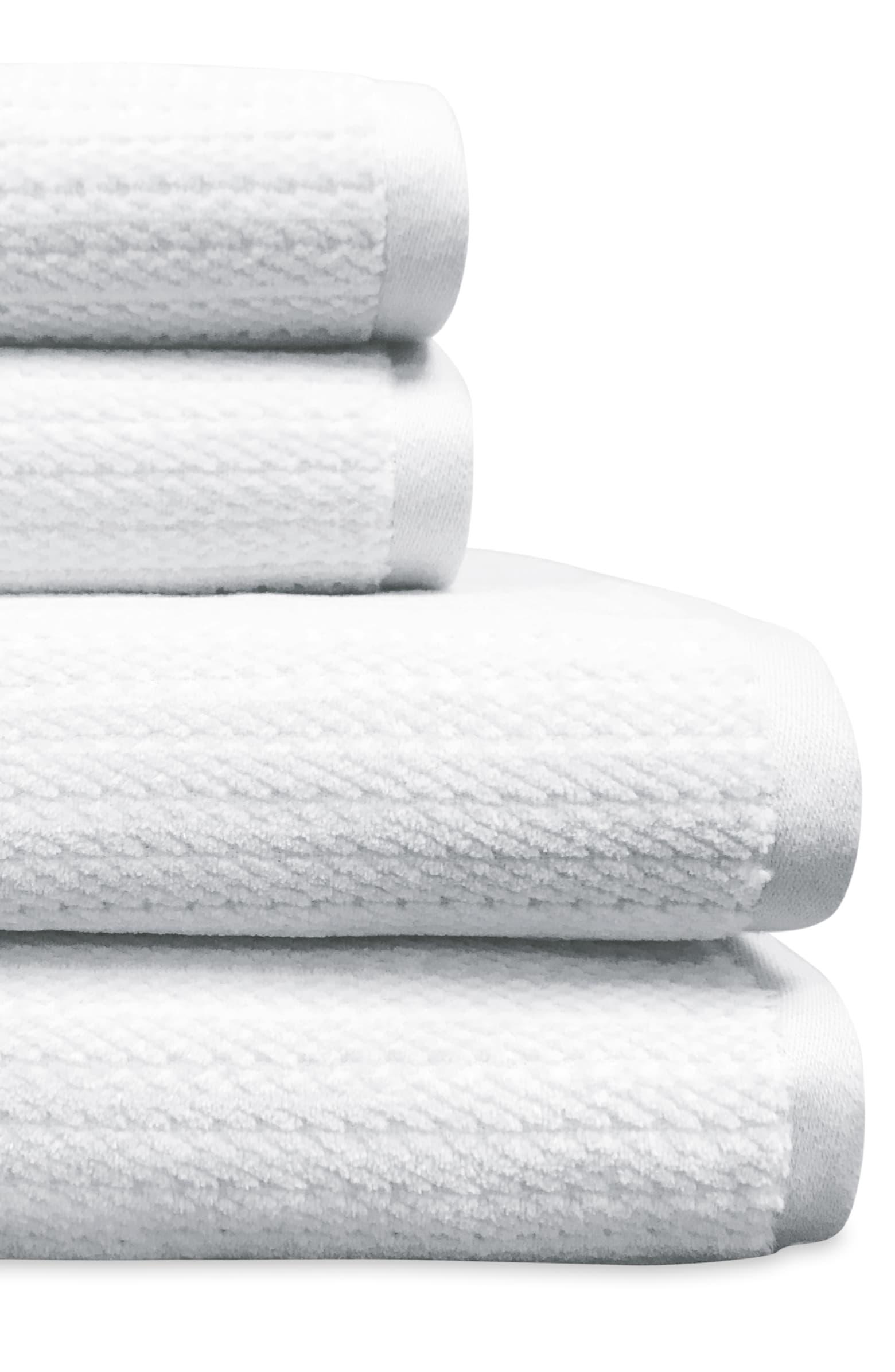 Mingled Stripe Set of 6 Towels