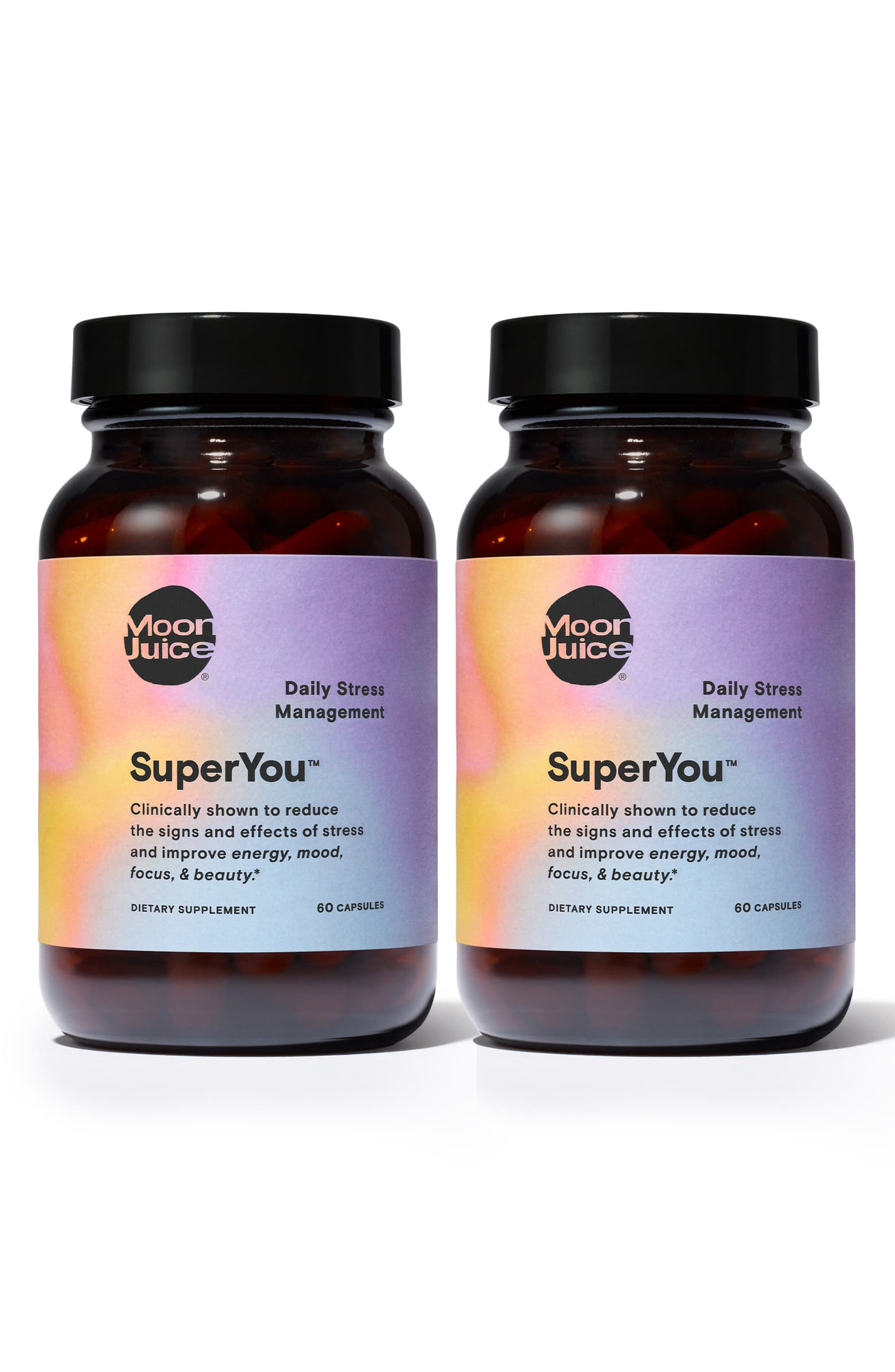 Energy/Mood/Focus/Beauty: SuperMoon SuperYou Supplement Duo