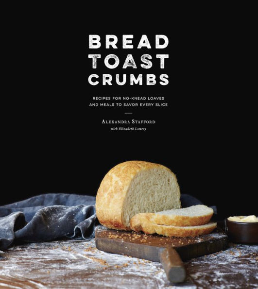 Bread Toast Crumbs: Recipes for No-Knead Loaves & Meals to Savor Every Slice - Sabi, our contributing writer, was gifted this book recently as all she's been craving while pregnant, is bread! So, naturally, we flicked through the pages and rustled up some peasant bread in the kitchen, and now we're all in need of bread. [See what we did there?] This book is a great intro into making bread at home, plus, towards the back, it offers meal recipes that incorporate leftover crumbs, crust, etc, so there is no wastage!