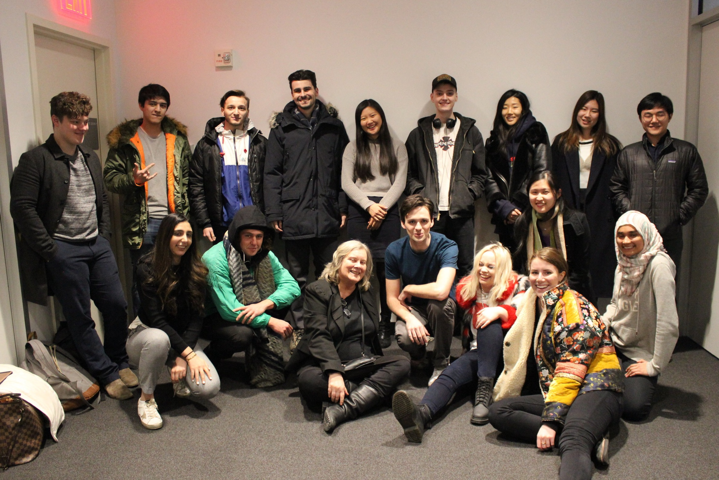 Students from Cynthia Allen's spring 2019 course, Future Reality: Trends and Impacts of New Media.