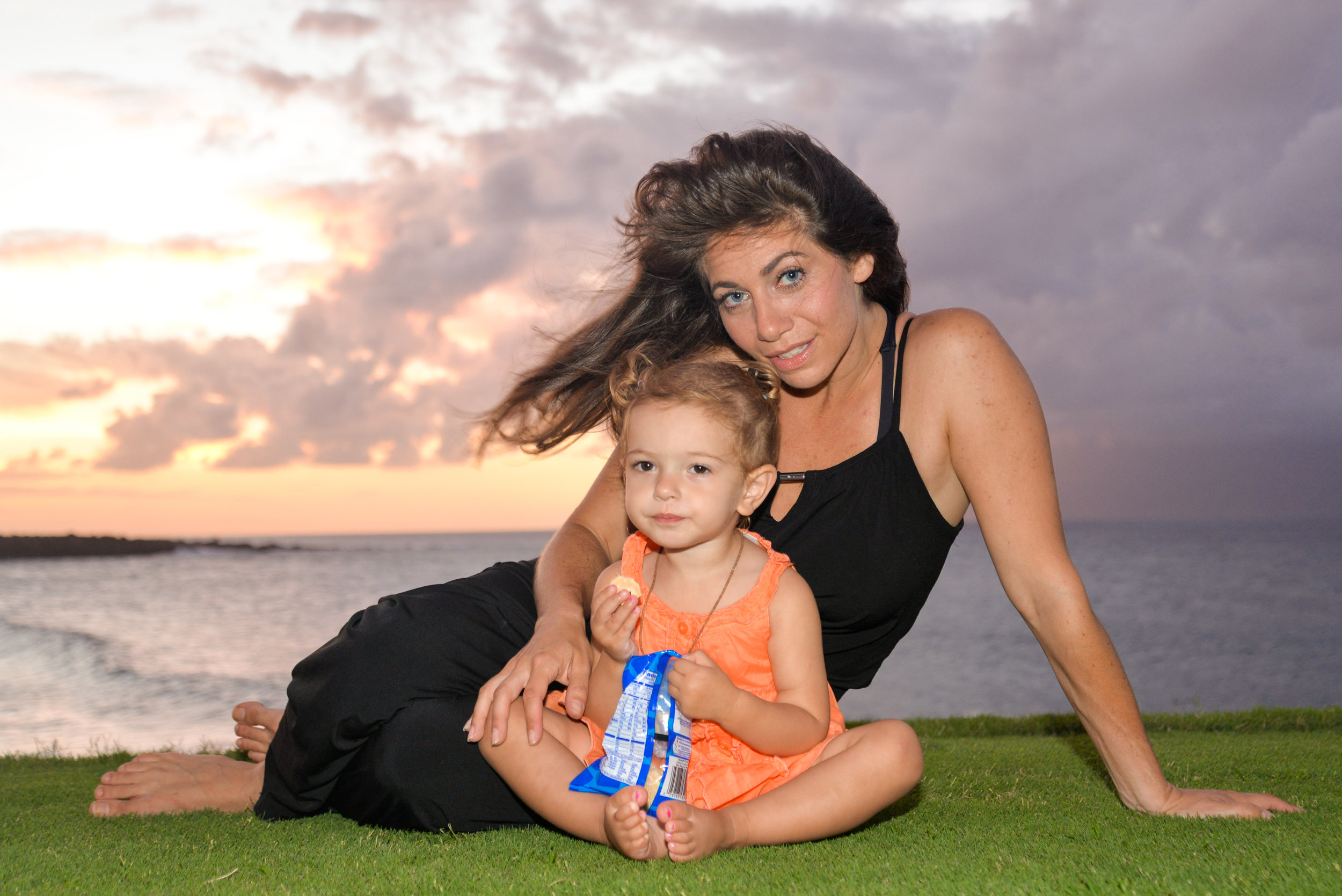 Melissa and the inspiration for BLISSNESS® SCHOOL on retreat in Maui.