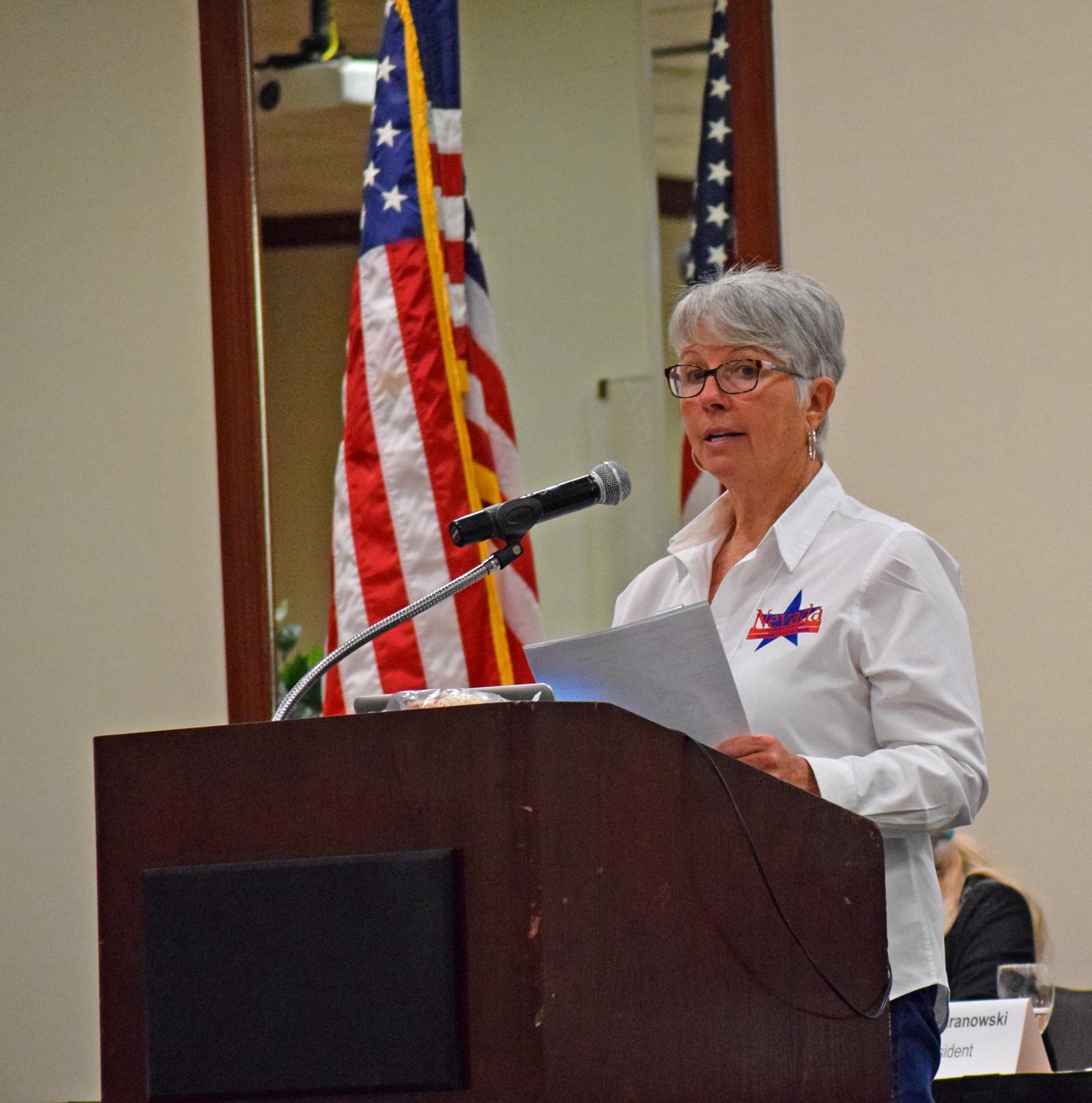 NvFRW Oct 13 2018 NvFRW President Diane Baranowski.jpg