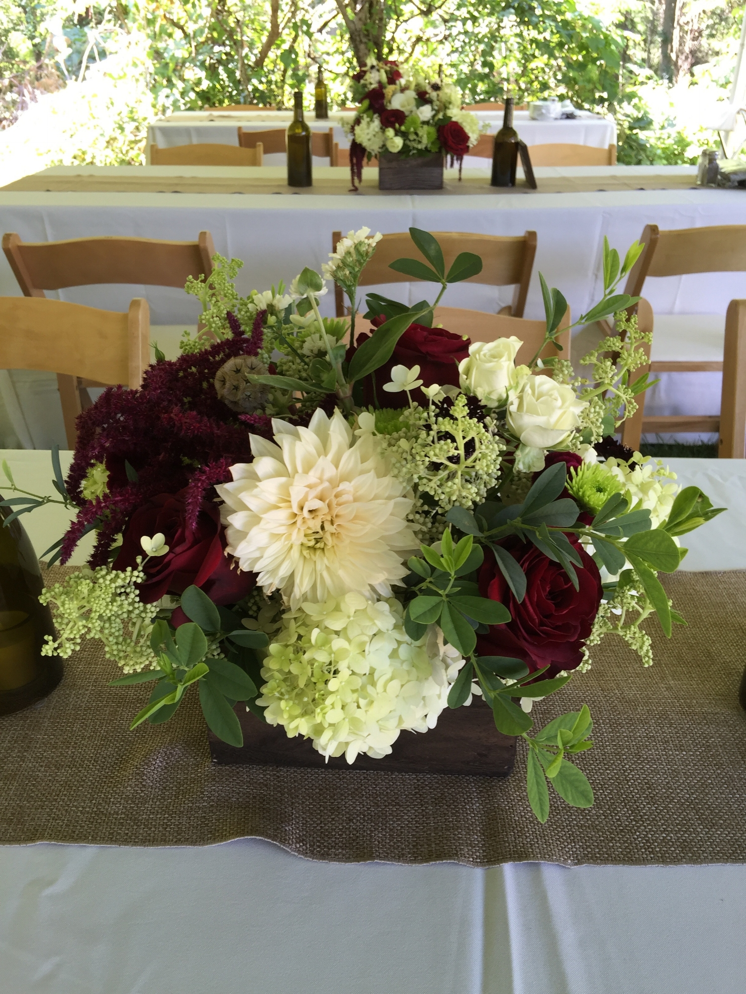 Mid-August centerpiece