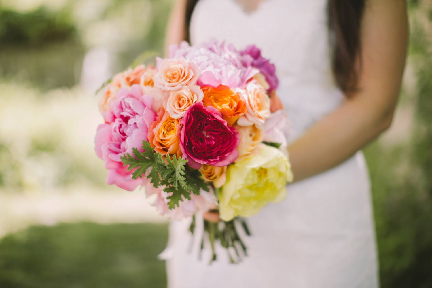 Early June Bridal Bouquet